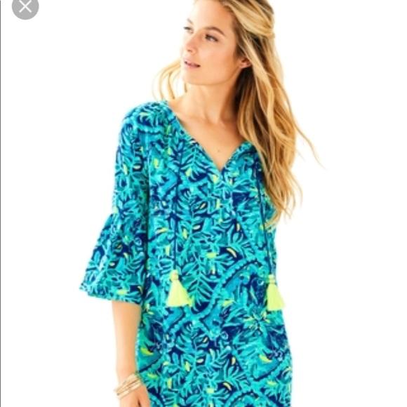 7e65f4c710c Lilly Pulitzer Del Lago Tunic Dress XXS and XS